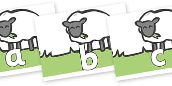 Phoneme Set on Sheep to Support Teaching on Pig in the Pond - Phoneme set, phonemes, phoneme, Letters and Sounds, DfES, display, Phase 1, Phase 2, Phase 3, Phase 5, Foundation, Literacy