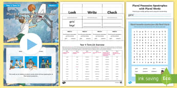 Year 4 Term 2A Week 6 Spelling Pack - Spelling Lists, Word Lists, Spring Term, List Pack, SPaG