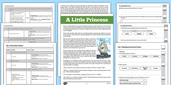 Term 3 Year 4 Reading Assessment Fiction - term 3, year 4, reading, assessment, fiction