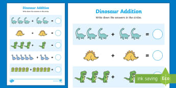 Addition Sheets Primary Resources - Addition Number Add
