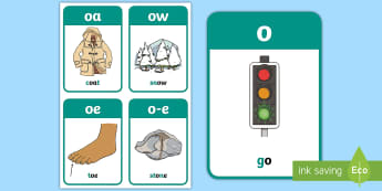 My oa Sound Family Flashcards - My Oa Sound Family Flashcards,Sound family, oa, ow, o-e, o, alternate spellings, alternate spellings