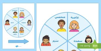 عجلة المشاعر - مشاعر، أحاسيس، عواطف، تمثل أدوار، لعب أدوار، عربي، أنف