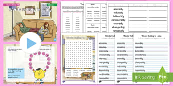 Year 6 Term 1B Week 3  Spelling Pack - Spelling Lists, Word Lists, Autumn Term, List Pack, SPaG