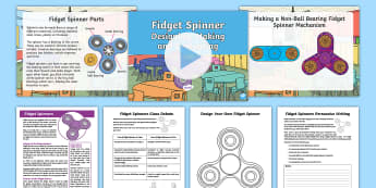 Fidget Spinners Ks2 Resource Pack - fidget Spinner, spinners, craze, KS2, Fad, post-KS2, post KS2