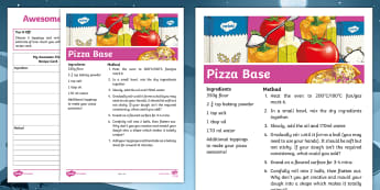 Awesome Pizza Recipe - food, DT, technology, ingredients, method, topping, raider's peril, instructions