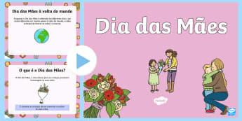 Dia das Mães, apresentação PowerPoint - dia da mae, atividade, trabalhos manuais, fichas de colorir, paginas de colorir, recursos em portugu