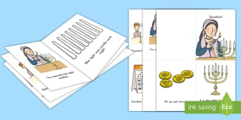 Hanukkah Emergent Reader - Holidays, Early Childhood Literacy, Beginning Reader, Guided Readers, Guided Reading, Winter Holiday