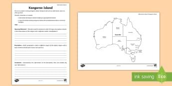 Australian States and Territories – Kangaroo Island Information Report - Year 3, Year 4, Year 5, Year 6, ACHASSK066, Australian Curriculum, Geography, South Australia, langu