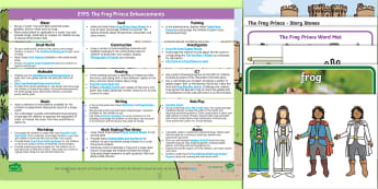 EYFS The Frog Prince Enhancement Ideas and Resources Pack - EYFS, Early Years Planning, Adult Led, Continuous Provision, The Frog Prince, Traditional Tales, Pri