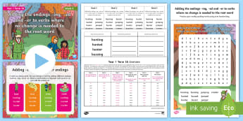 Year 1 Term 1A Week 3 Spelling Pack - Spelling Lists, Word Lists, Autumn Term, List Pack, SPaG