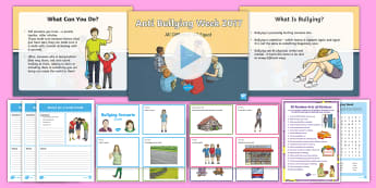 KS2 Anti-Bullying Week 2017 Resource Pack - staying safe, all different all equal, bullying, kind, kindness, good friend