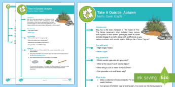 KS2 Take It Outside: Autumn Maths - Clever Coyote Activity - Origin of Fire, Outdoor and Woodland Learning, Wonder Investigate Learn Discover, Forest School, Out