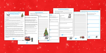 Christmas Cat Creative Writing Prompts - christmas cat, creative, writing, prompts
