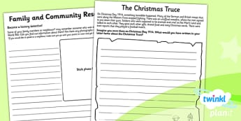 History: War and Remembrance KS1 Unit Home Learning Tasks