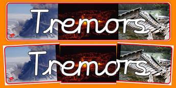 Tremors Photo Display Banner - tremors, photo, display banner, display, banner