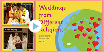 KS2 Weddings from Different Religions - weddings, different, religions, cultures