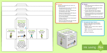 Fitness Cubes Activity - Health, Sports and P.E, fitness