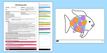 ICT Painting EYFS Adult Input Plan and Resource Pack to Support Teaching on The Rainbow Fish