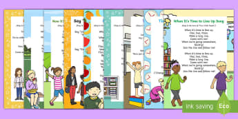 EYLF Daily Routines Songs and Rhymes Resource Pack - EYLF, Literacy, songs, rhymes, routine, everyday life, resource pack, australia,Australia