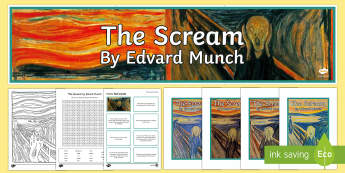 The Scream by Edvard Munch Resource Pack-Irish