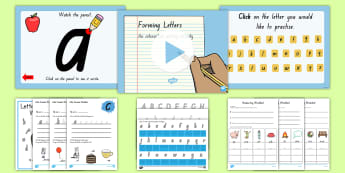 New South Wales  Letter Formation Resource Pack - Handwriting, NSW, Writing, Handwriting, Activity Sheets, Activity Booklet,Australia