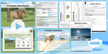 Yr 4 Language Conventions: Fronted Adverbials Lesson Pack - PlanIt Yr 4 Language Conventions: Fronted Adverbials Lesson Pack, year 4, australian curriculum, eng