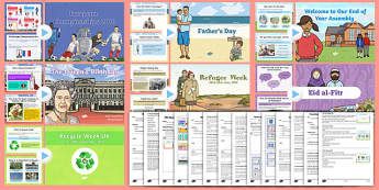 KS1 Summer Term 2  Bumper Assembly Pack