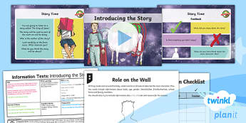 Space: The King of Space: Information Texts 1 Y3 Lesson Pack To Support Teaching on 'The King of Space' - Earth and space, astronauts, rex, adventure story, the pirates