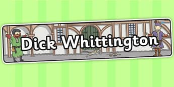 Dick Whittington Display Banner - display, banner, banner display