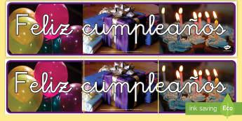 Pancarta: Feliz cumpleaños con fotos - pancarta, feliz cumpleaños, cumpleaños, feliz, felicidades, celebrar, fiesta, cumple, años, edad,