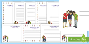 Anti-Bullying Week 2017 Page Border Pack -  Difference, Prejudice  Equality, Fair, Fairness, Bully, Friendship, Relationship,,Scottish