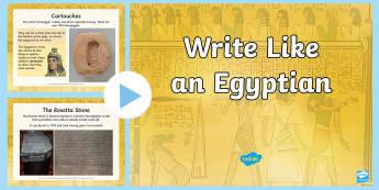 Hieroglyphics PowerPoint - egypt, eygptian, egyot, hieroglyphics, hieroglyphics,