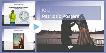 Patriotic Posters PowerPoint