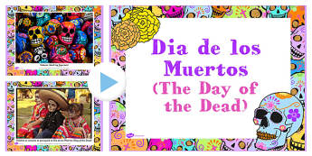 Mexican Day of the Dead Photo PowerPoint - photos, mexican day