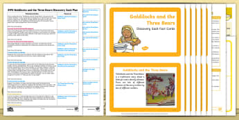 Goldilocks and the Three Bears Discovery Sack - goldilocks, sack