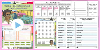 Year 6 Term 1A Week 3 Spelling Pack - Spelling Lists, Word Lists, Autumn Term, List Pack, SPaG