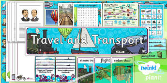 History: Travel and Transport KS1 Unit Additional Resources