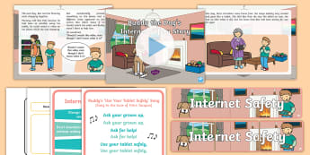 Buddy the Dog's Internet Safety Resource Pack - SID, EYFS Safer Internet Day (6th February 2018), internet safety, cyberbullying, e-safety, e safety, cyb