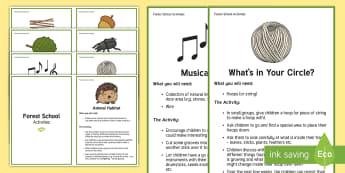 Forest School Activities Challenge Cards - Forest School Acitivities Challenge Cards - forest school, forest schools, outdoor activities, outsi