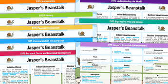 EYFS Lesson Plan and Enhancement Ideas to Support Teaching on Jasper's Beanstalk - planning, jaspers beanstalk, lesson plan, lesson plan ideas, lesson ideas, lesson planning, teaching plan, EYFS, ideas