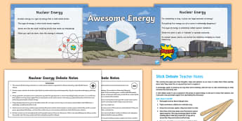 Nuclear Energy  Activity Pack - Awesome Energy, Energy, Electricity, Nuclear, Heat, Chemical, Timeline, Kinetic, Potential, STEM.