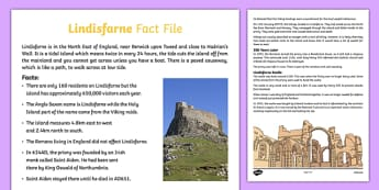 Lindisfarne Fact File