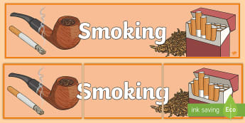 Smoking Display Banner - smoking, substance misuse, health and wellbeing, Cigarettes, smoke,Scottish