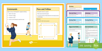 Netball: Warm-Up Cards KS3 Teaching Ideas - Netball, Winter game, invasion game, Warm up, Cards