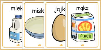 Przepis na nalesniki z okazji Pancake Day do polsku - do pobrania , Polish