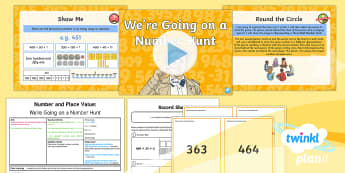 PlanIt Maths Y3 Number and Place Value Lesson Pack Different Representations (2)