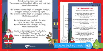 On Christmas Eve Song