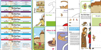The Pied Piper Lesson Plan Enhancement Ideas and Resources Pack - EYFS, Early Years Planning, Adult Led, Continuous Provision, The Pied Piper, Traditional Tales, Pipe