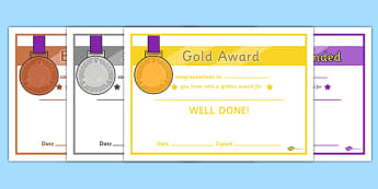 General Medals Award Certificates (Gold Silver and Bronze) - Olympics, Olympic Games, sports, Olympic, London, 2012, awards, rewards, award, certificate, silver, gold, bronze, Olympic torch, flag, countries, medal, Olympic Rings, mascots, flame, comp