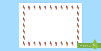 Roman Soldiers Themed Page Borders - Ancient Romans Full Page Borders (Landscape) - page border, border, frame, writing frame, writing te